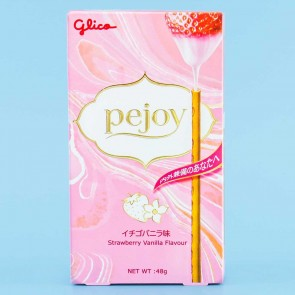 Glico Pejoy Biscuit Sticks - Strawberry Vanilla