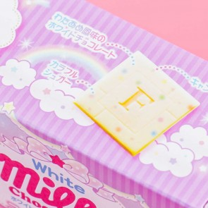 Fujiya White Milky Chocolate - Cotton Candy