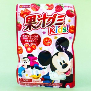 Meiji Disney Red Fruit & Veggie Gummy