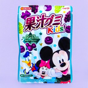 Meiji Disney Grape & Muscat Gummy