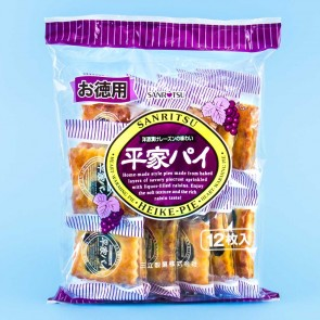 Sanritsu Heike Pie Biscuit Multi-Pack - 12 pcs