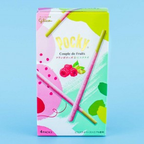 Pocky Biscuit Sticks - Couple De Fruits Framboise & Pistachio