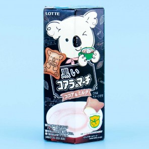Lotte Black Koala March Milk Cocoa Cookies