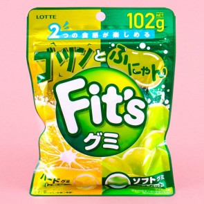 Lotte Fit's Hard Lemon & Soft Muscat Gummies
