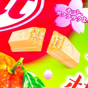 Kit Kat Chocolates - Japanese Iyokan Mikan Orange