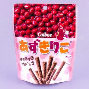 Calbee Azukiriko Red Bean Stick Snacks
