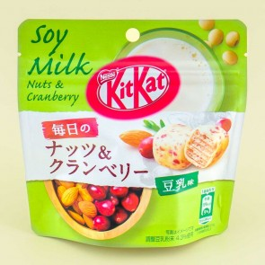 Kit Kat Everyday Nuts & Cranberry - Soy Milk
