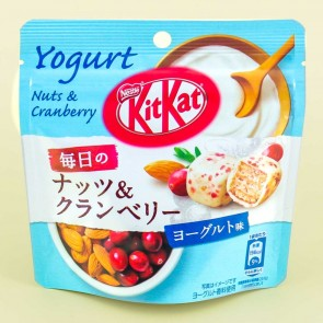 Kit Kat Chocolate Pouch Pack - Nuts & Cranberry Yogurt