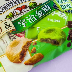 Fujiya Country Ma'am Vanilla & Green Tea Uji-Kintoki Cookies