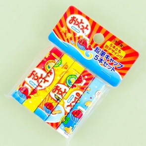 Ottotto Cracker Snacks Pencil Cap Set
