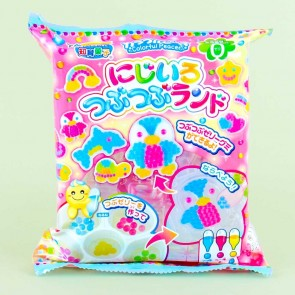 Kracie Popin' Cookin' Rainbow Tsubu Tsubu Land Candy Kit