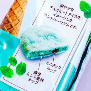 Fujiya Country Ma'am Choco Mint Ice Cream Cookies