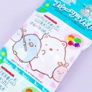 Hayakawa Sumikko Gurashi Fruits Ramune Candies - 5 pcs