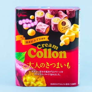 Glico Cream Collon Biscuit Rolls -  Satsumaimo
