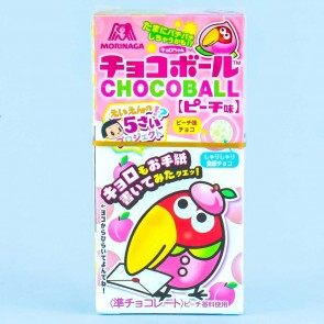 Morinaga Chocoball - Peach White Chocolate