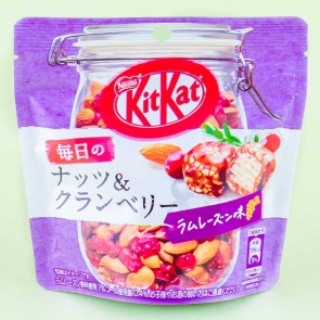 Kit Kat Chocolate Pouch Pack - Nuts & Cranberry Rum Raisin