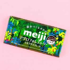 Meiji Agroforestry Milk Chocolate