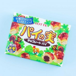 Lotte Pie No Mi Chocolate Memo Pad