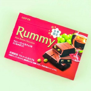 Lotte Rummy Rum Raisin Chocolate