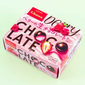 Lotte Ghana Raw Berries Chocolate