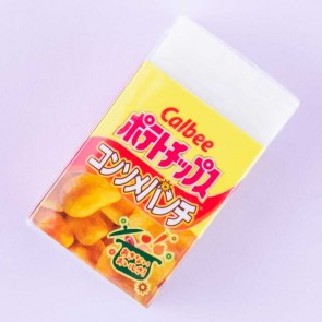 Calbee Potato Chips Eraser