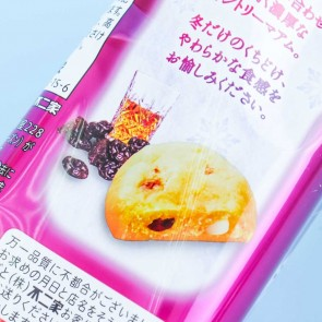 Fujiya Country Ma'am Winter Rum Raisin Cookies