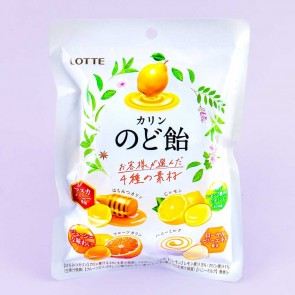 Lotte Karin Citrus 4 Flavor Throat Candy