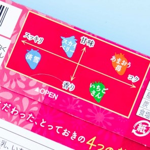 Fujiya Look Four Strawberry Chocolate