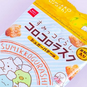 Sumikko Gurashi Rusk Biscuits - Sugar Butter - 4 pcs