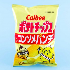 Calbee Potato Chips - Consommé Punch