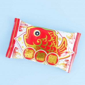 Meito Puku Puku Tai Fish Shaped Wafer - Chocolate