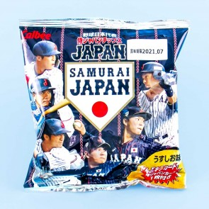 Calbee Samurai Japan Baseball Potato Chips