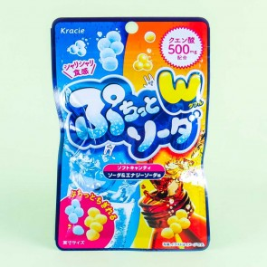 Kracie Puchitto Candy - Double Soda