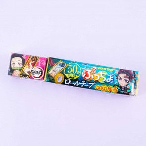 Puccho World Demon Slayer Chewy Candy With Tape - Peach Soda