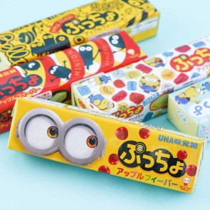 UHA Minions Puccho Chewy Candy - Apple
